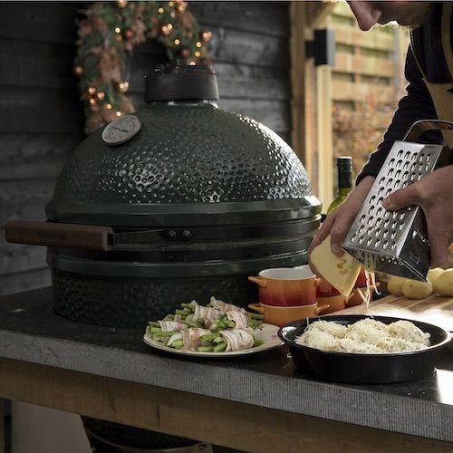Cocina de exterior e interior