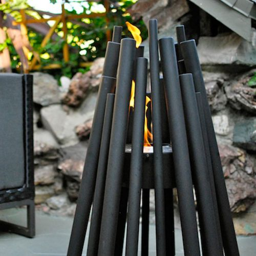 EcoSmart Fire Stix Black