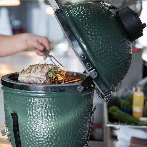 Ahuma, hornea, gruisa, cocina a la brasa o al grill cualquier alimento